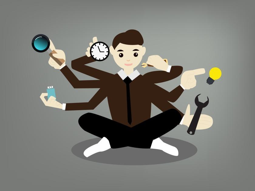el lider balanceado puede manejar muchas tareas con tranquilidad
